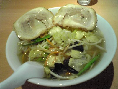 野菜ラーメン